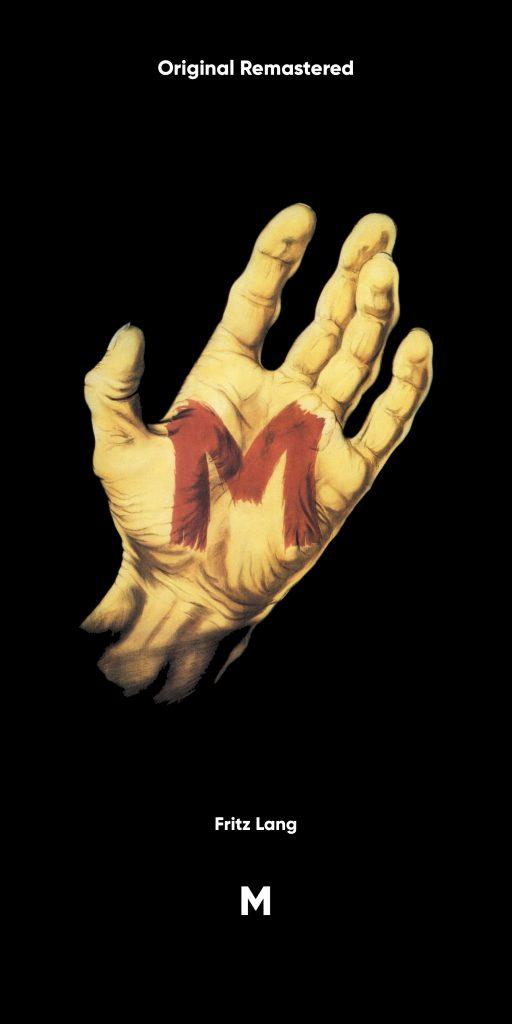 Affiche M Le Maudit (verticale)